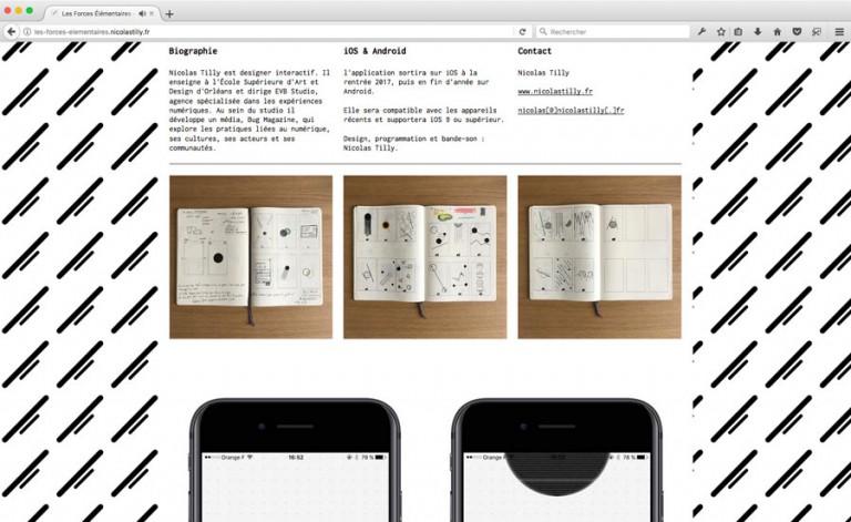 Nicolas Tilly projets web